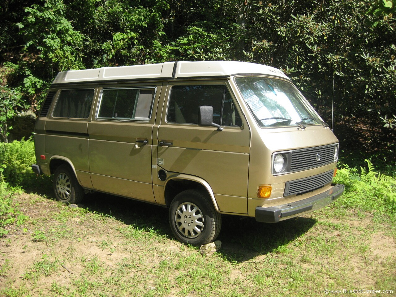 Bronze VW Westfalia
