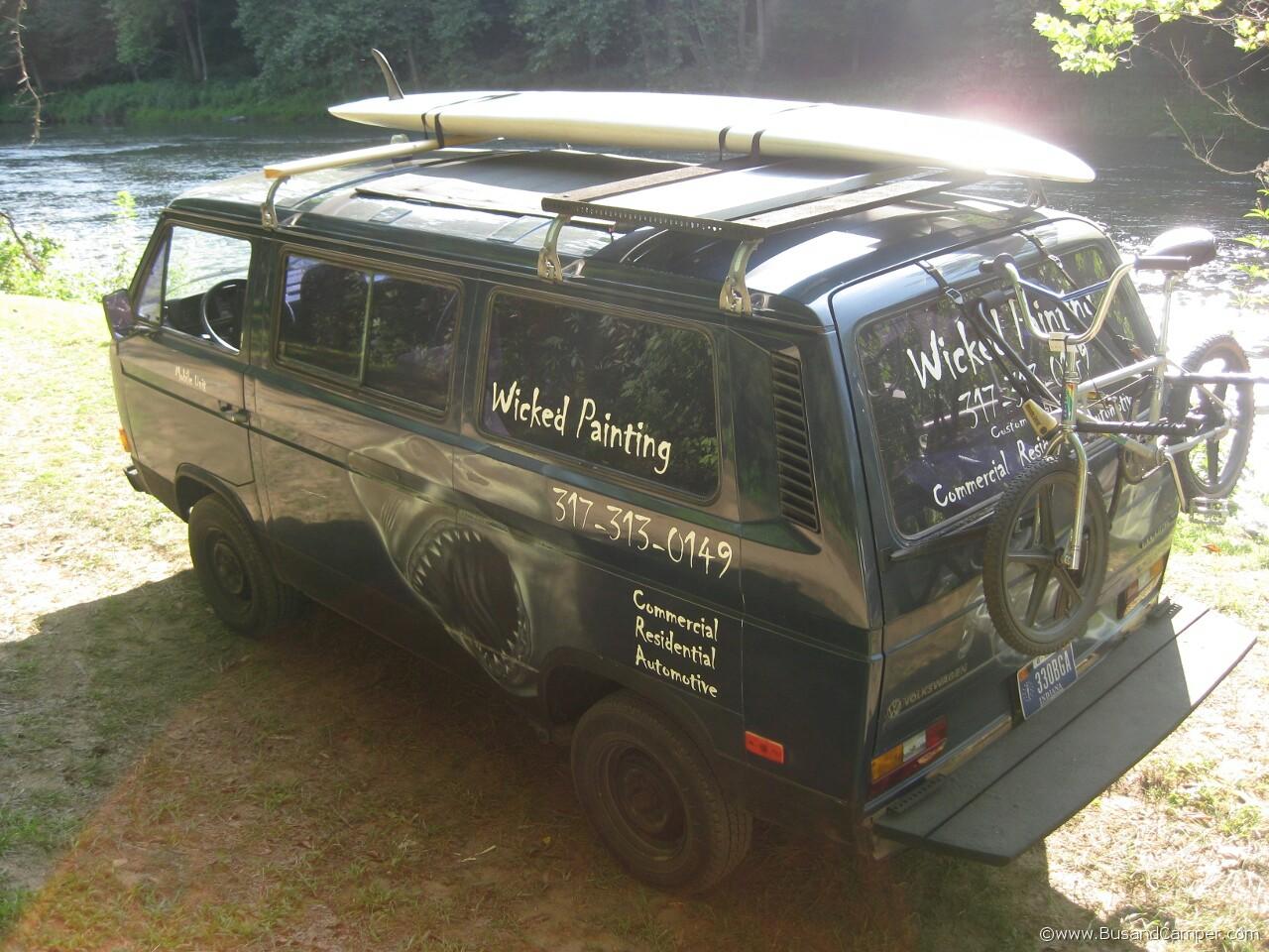 Wicked painting Van