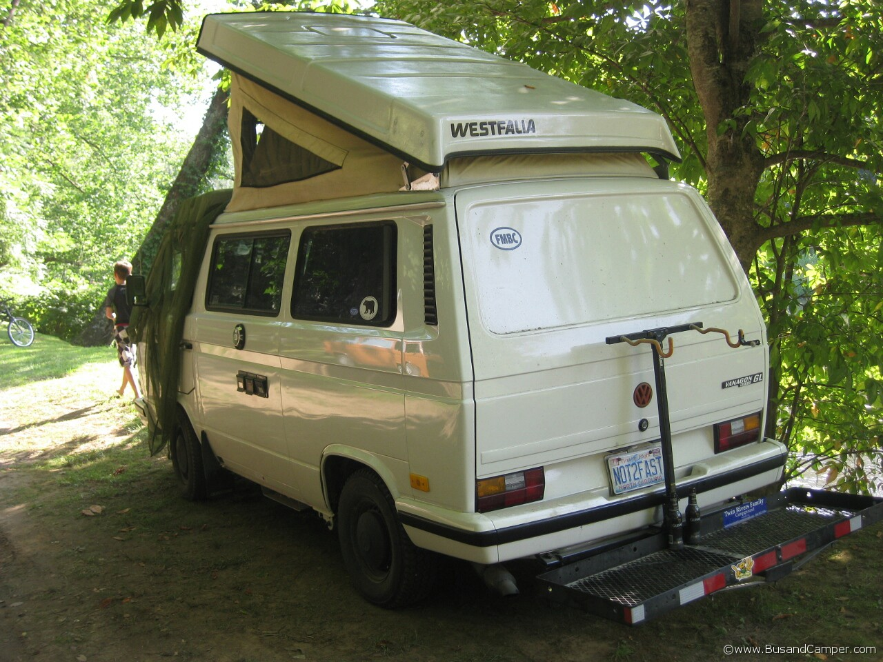 Vanagon GL and bike carrier