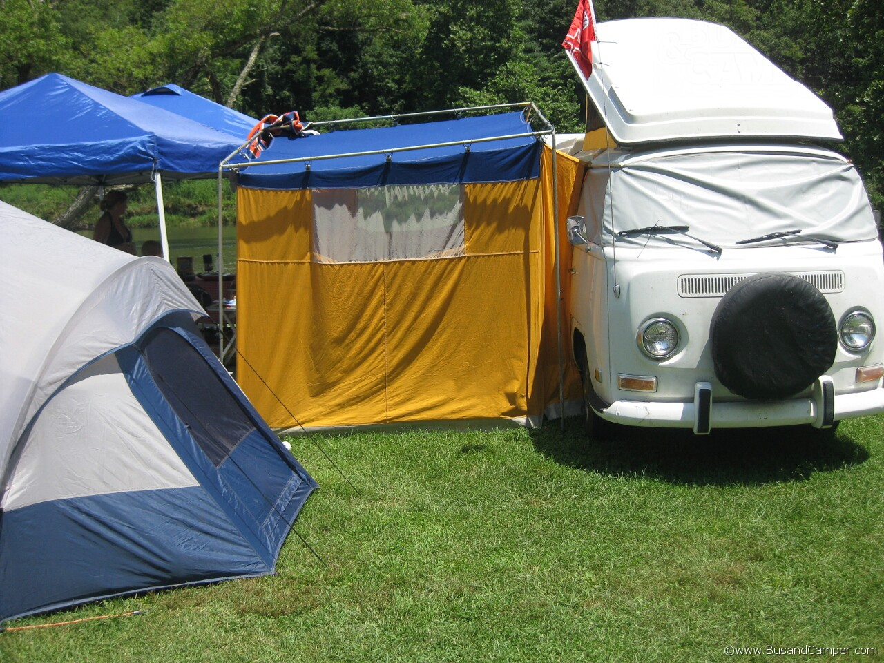 Earlybay Westfalia and Circus Tent