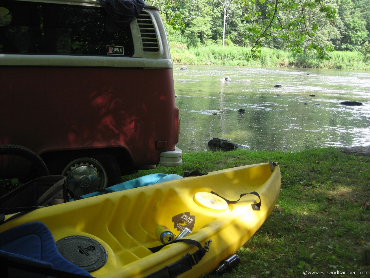 Canoe and Beer at the Campout