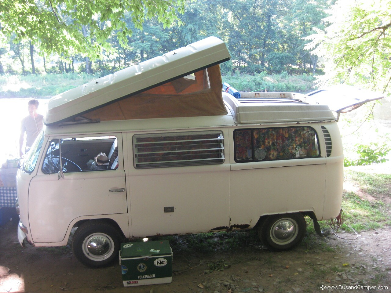 Original Pastell White Ealrly Wide Five Westy