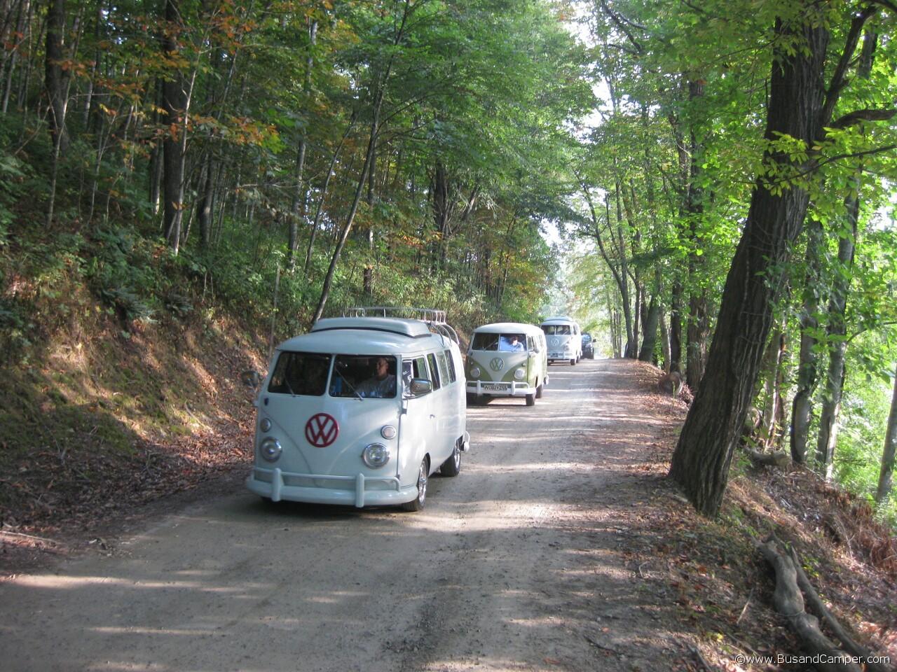 Moonie Bus convoy