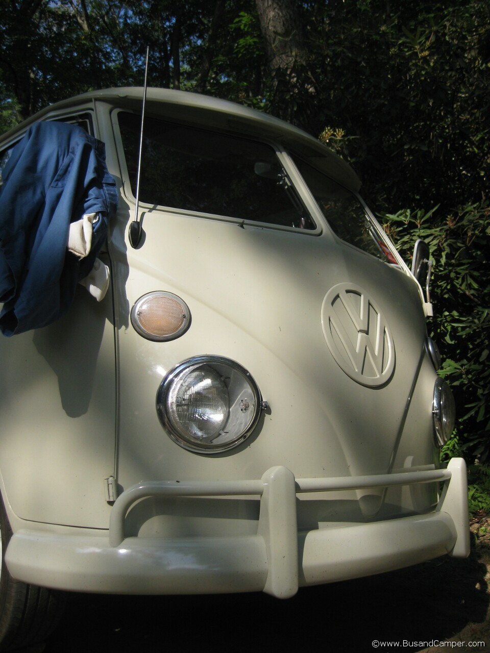 Artistic picture of a Campervan