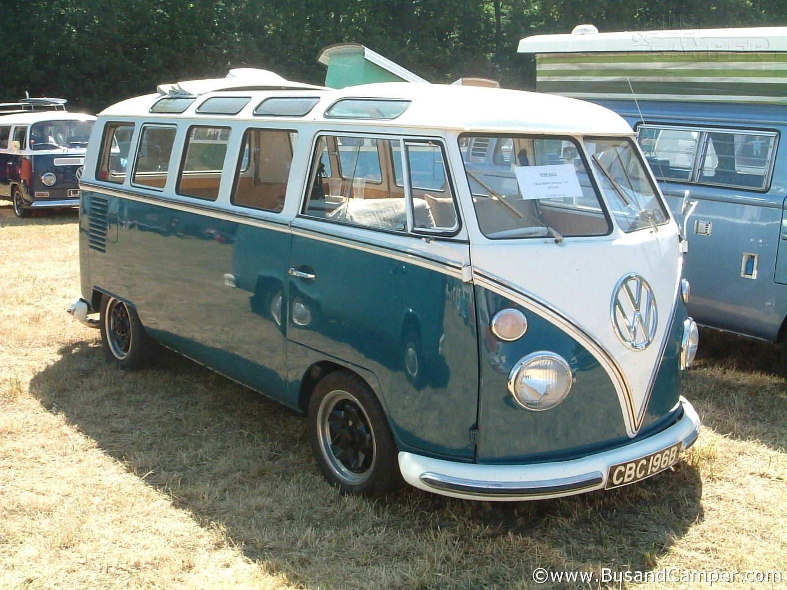 Samba Camper 21 window