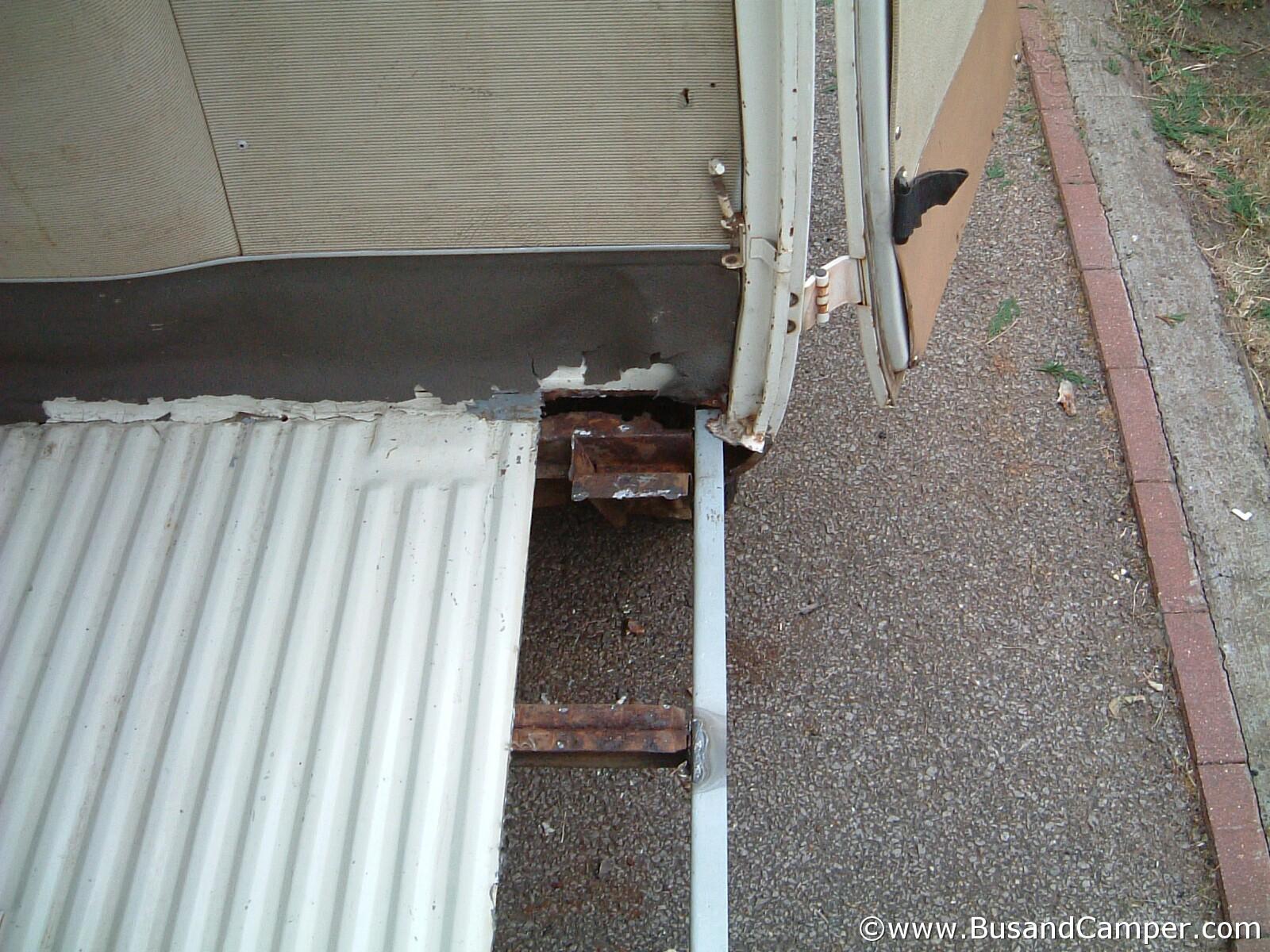 Cargo Floor Repair Front