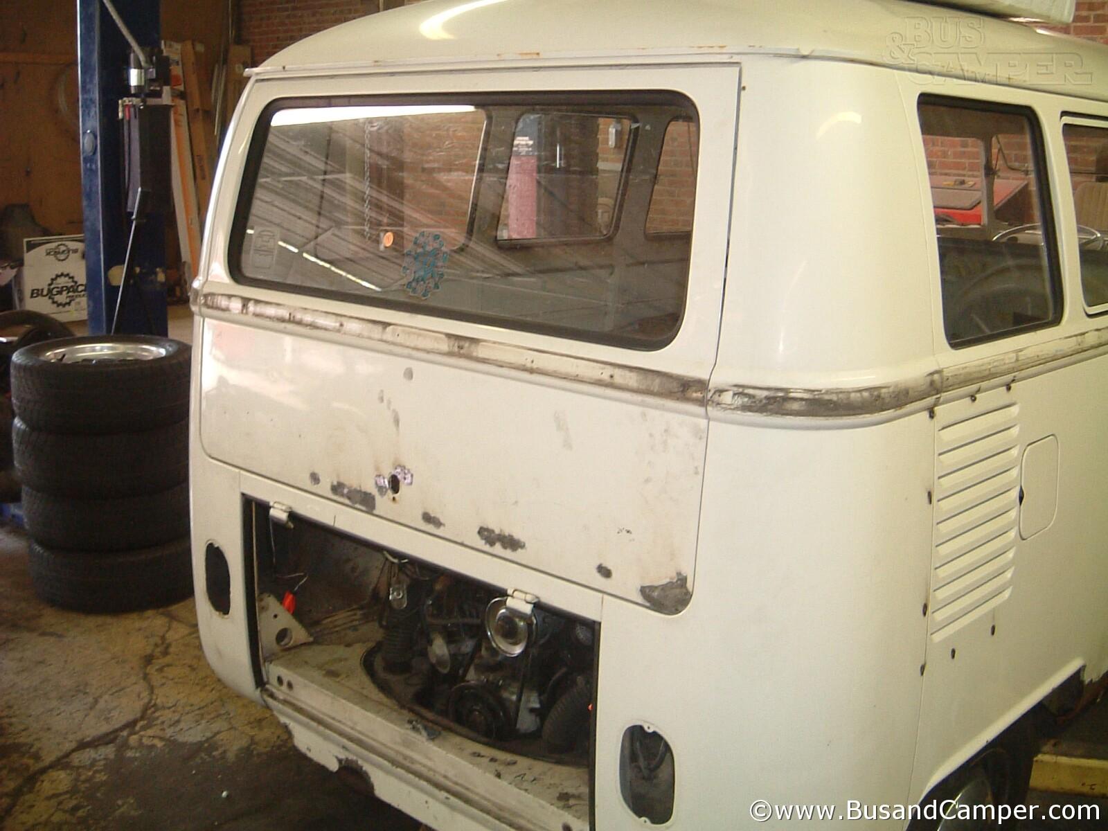 Rear Hatch Repair