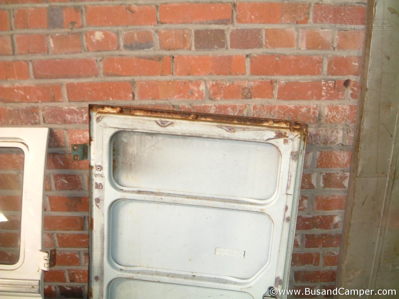 Cargo Door Rust