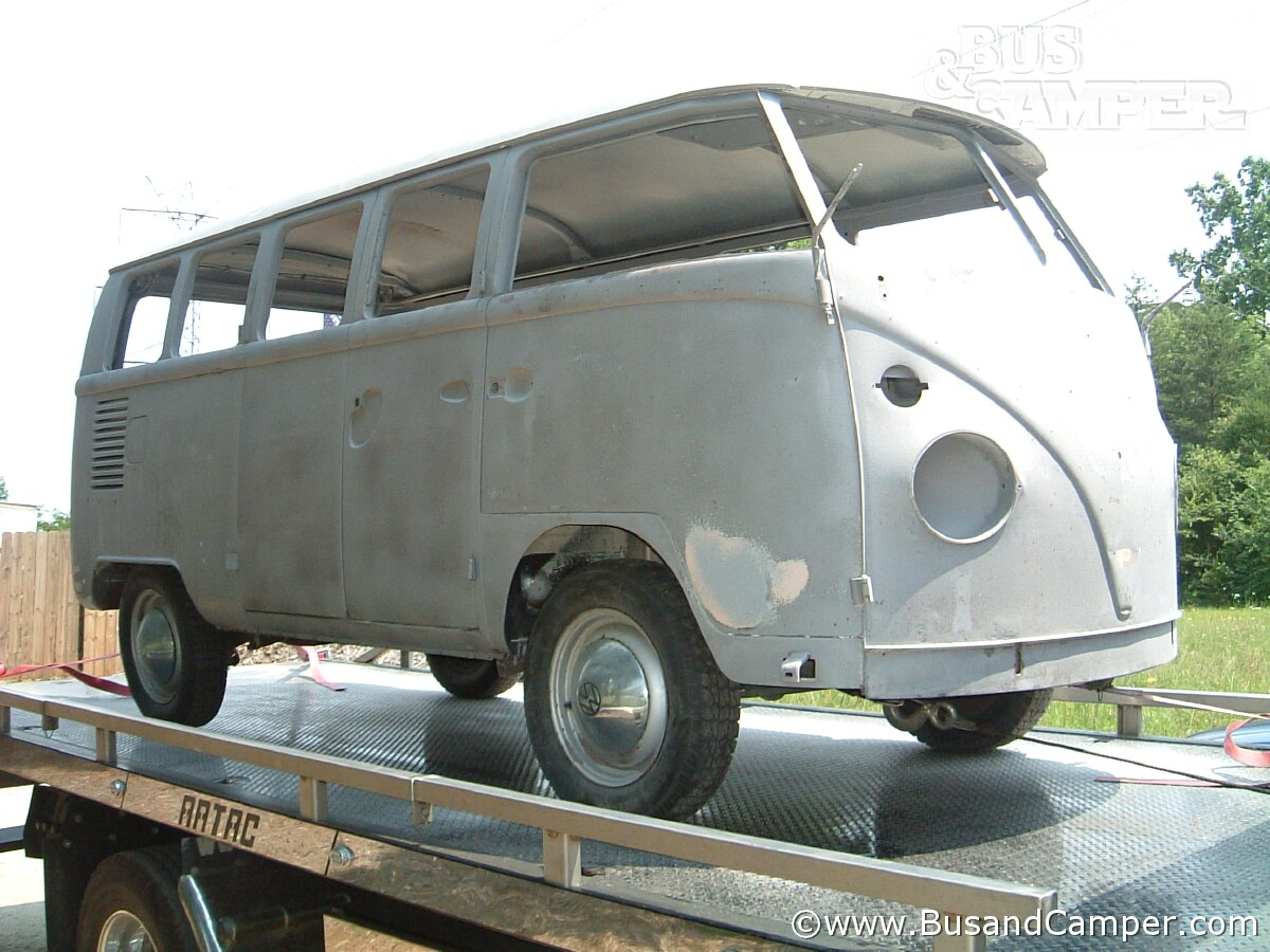 VW Bus Sandblasted