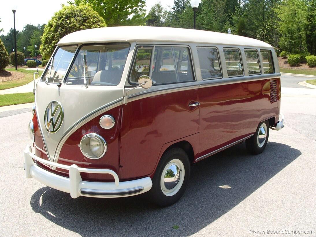 VW Camper drivers door
