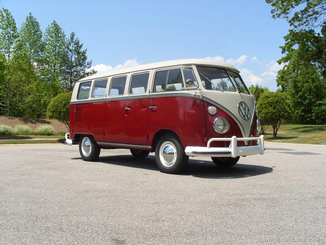 VW Camper perfect 1967 deluxe