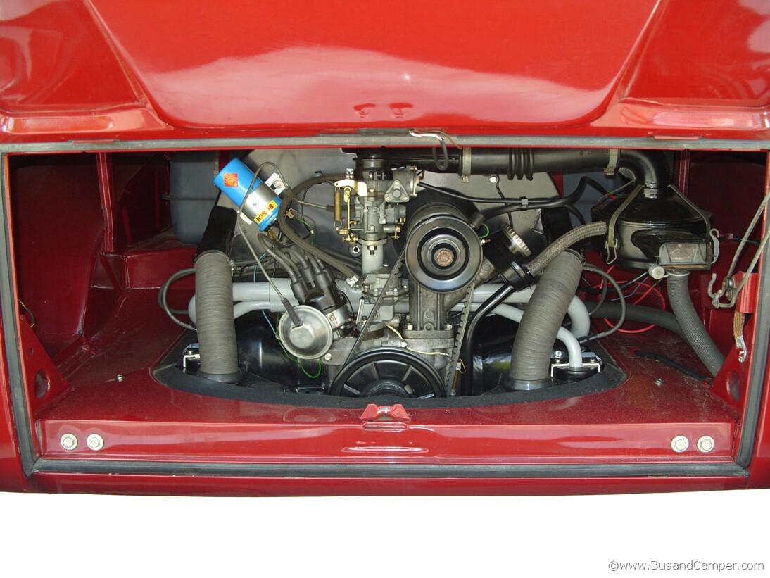 VW Camper Engine