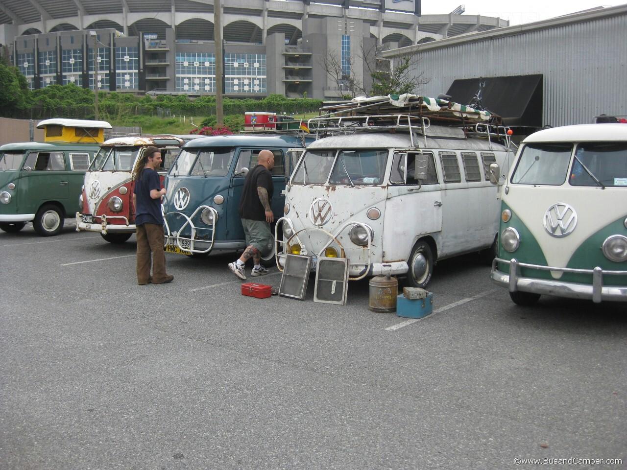 five splits vans