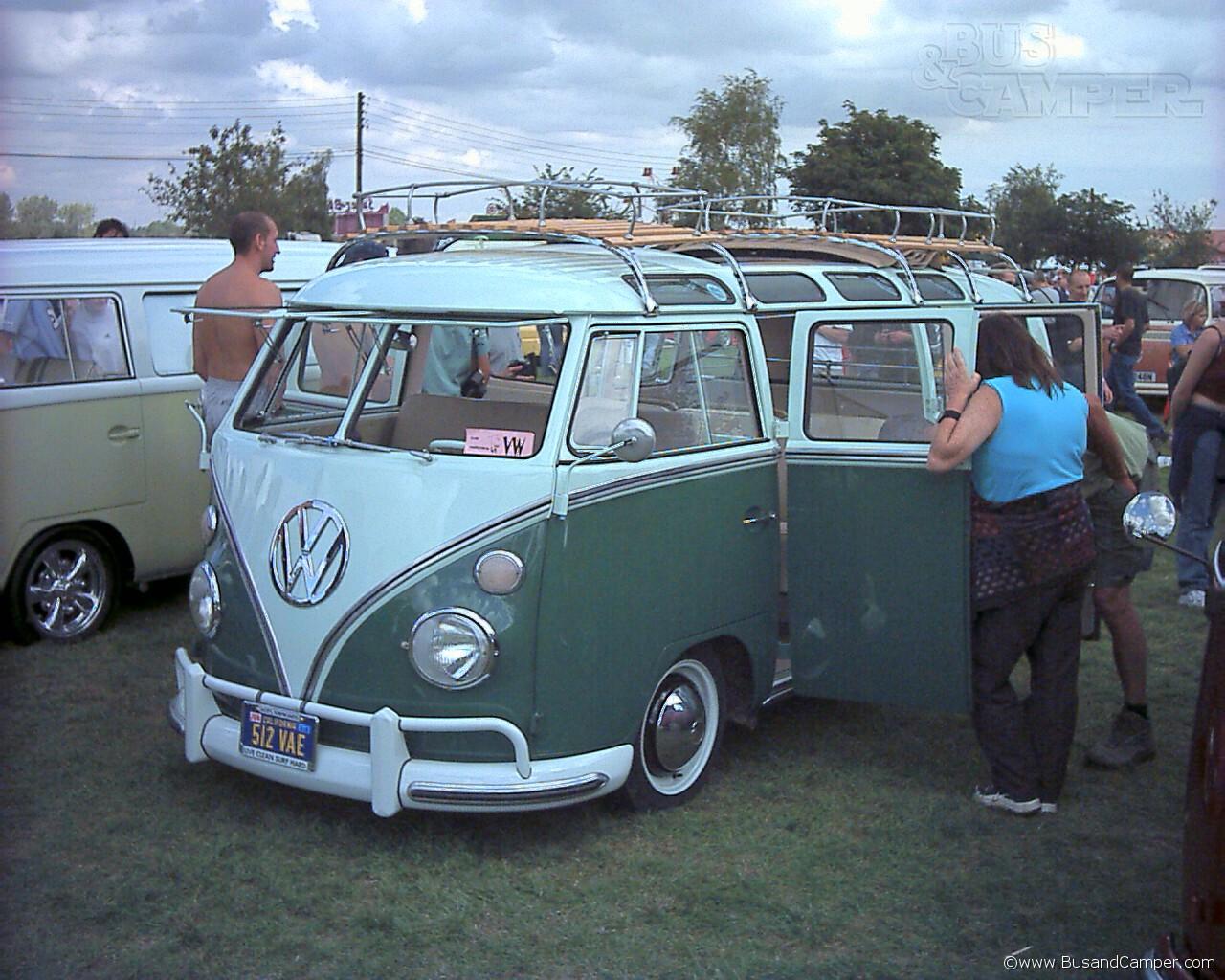 21 window VW Camper
