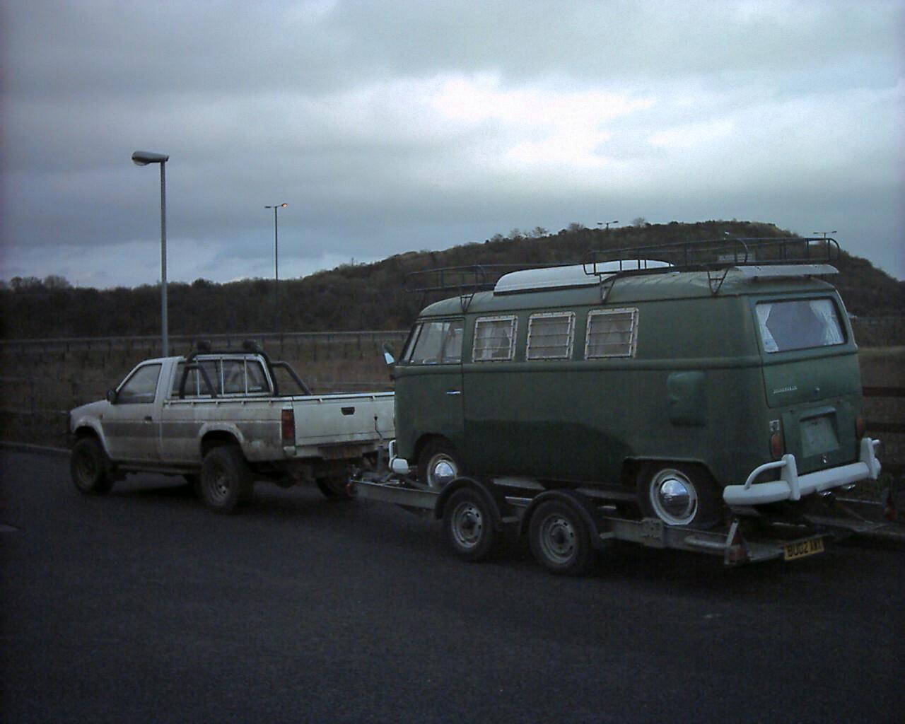 SO42 on a trailer