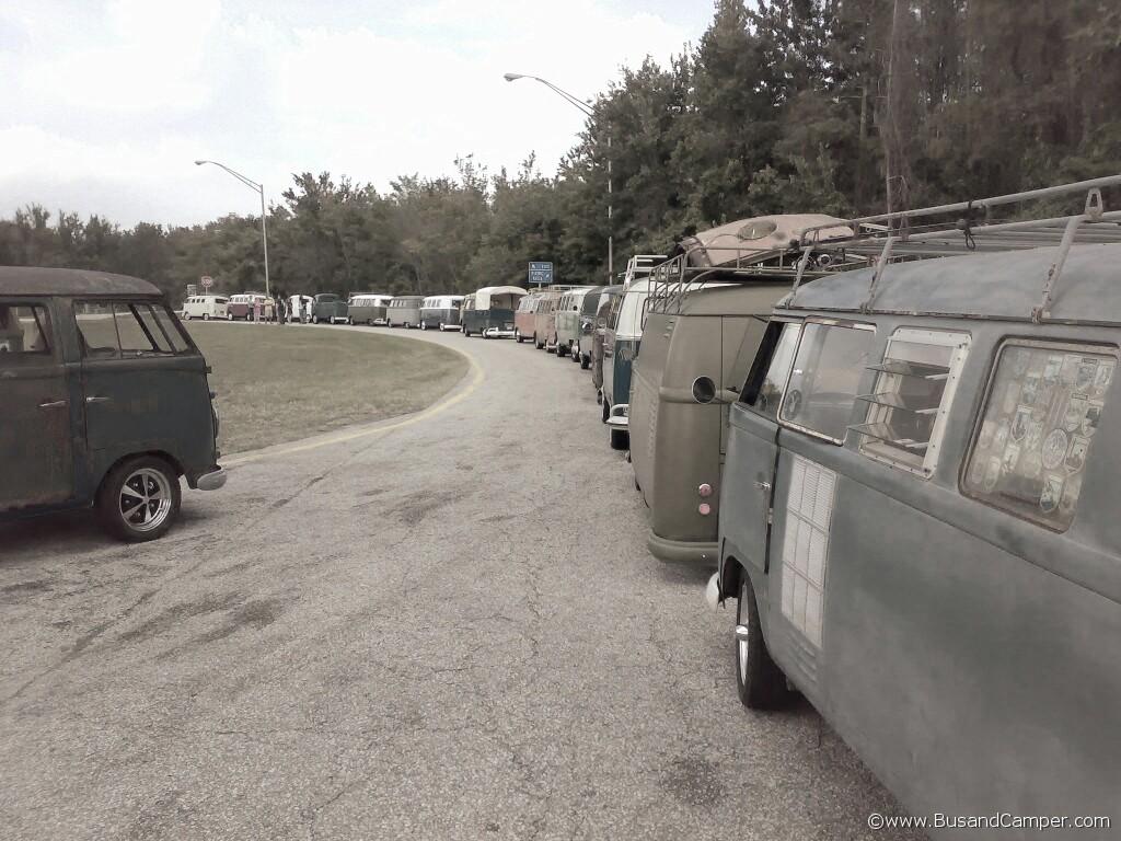 Bulli convoy starts