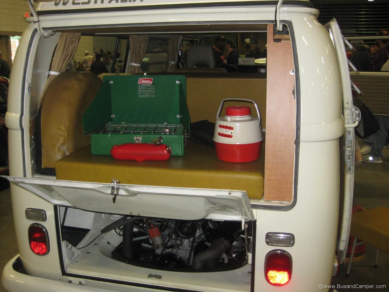 Westfalia earlybay rear hatch