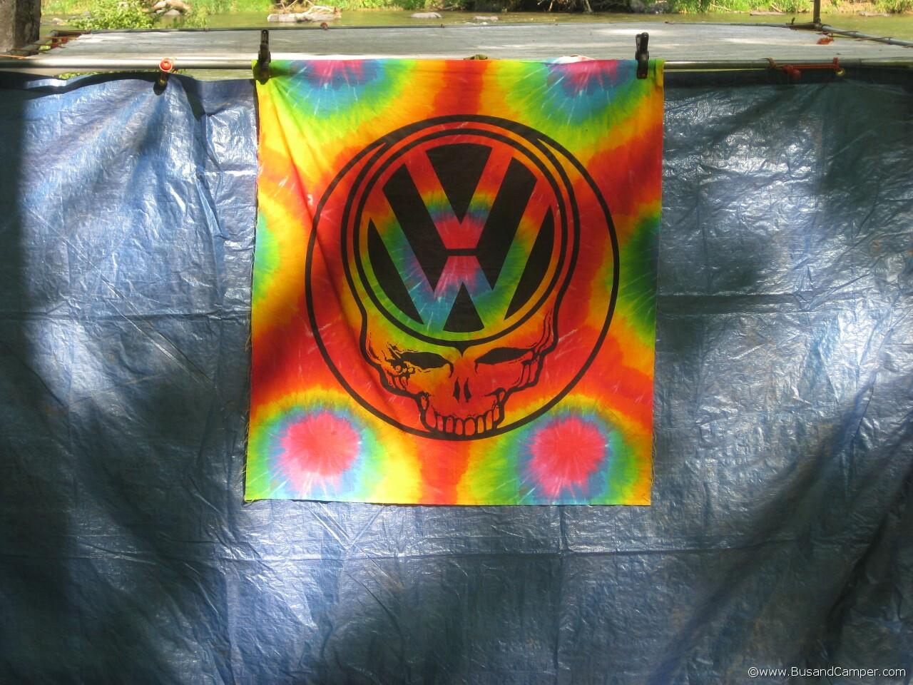 Dead VW Logo rainbow sheet artwork 23