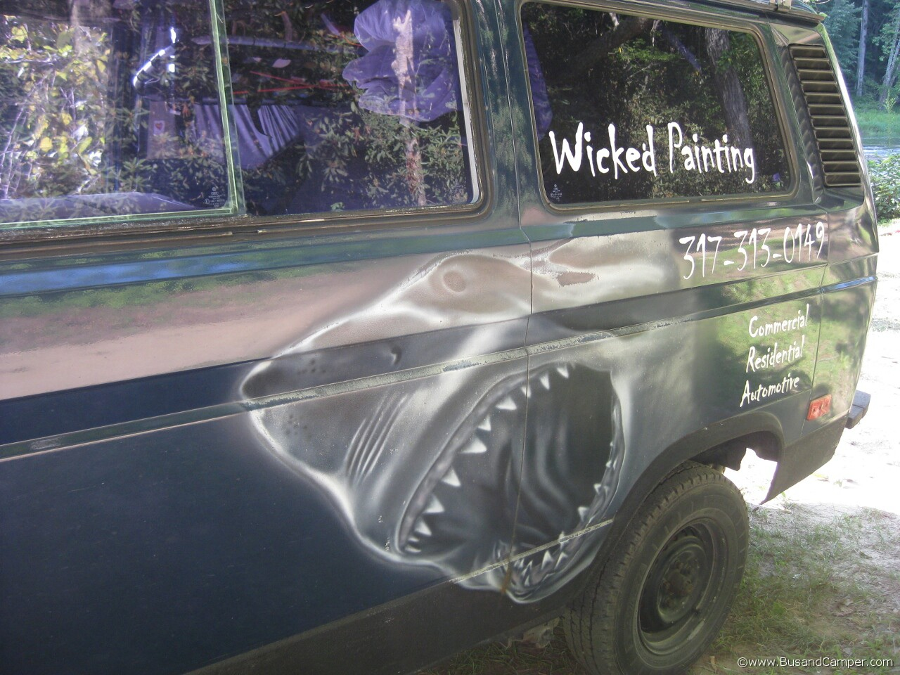 Airbrushed VW 39