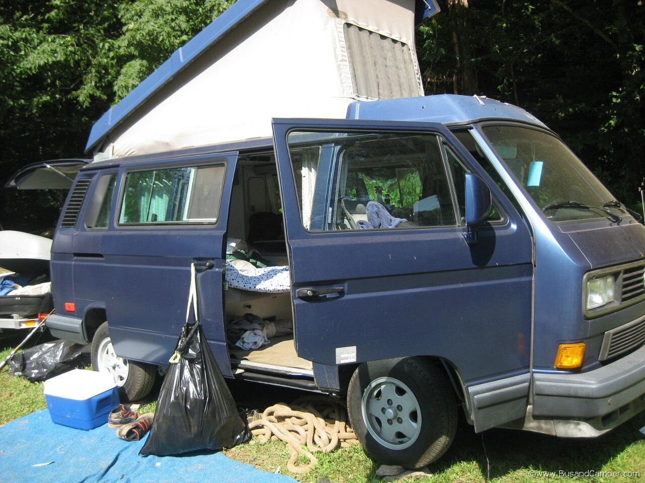 Lived in VW Camper