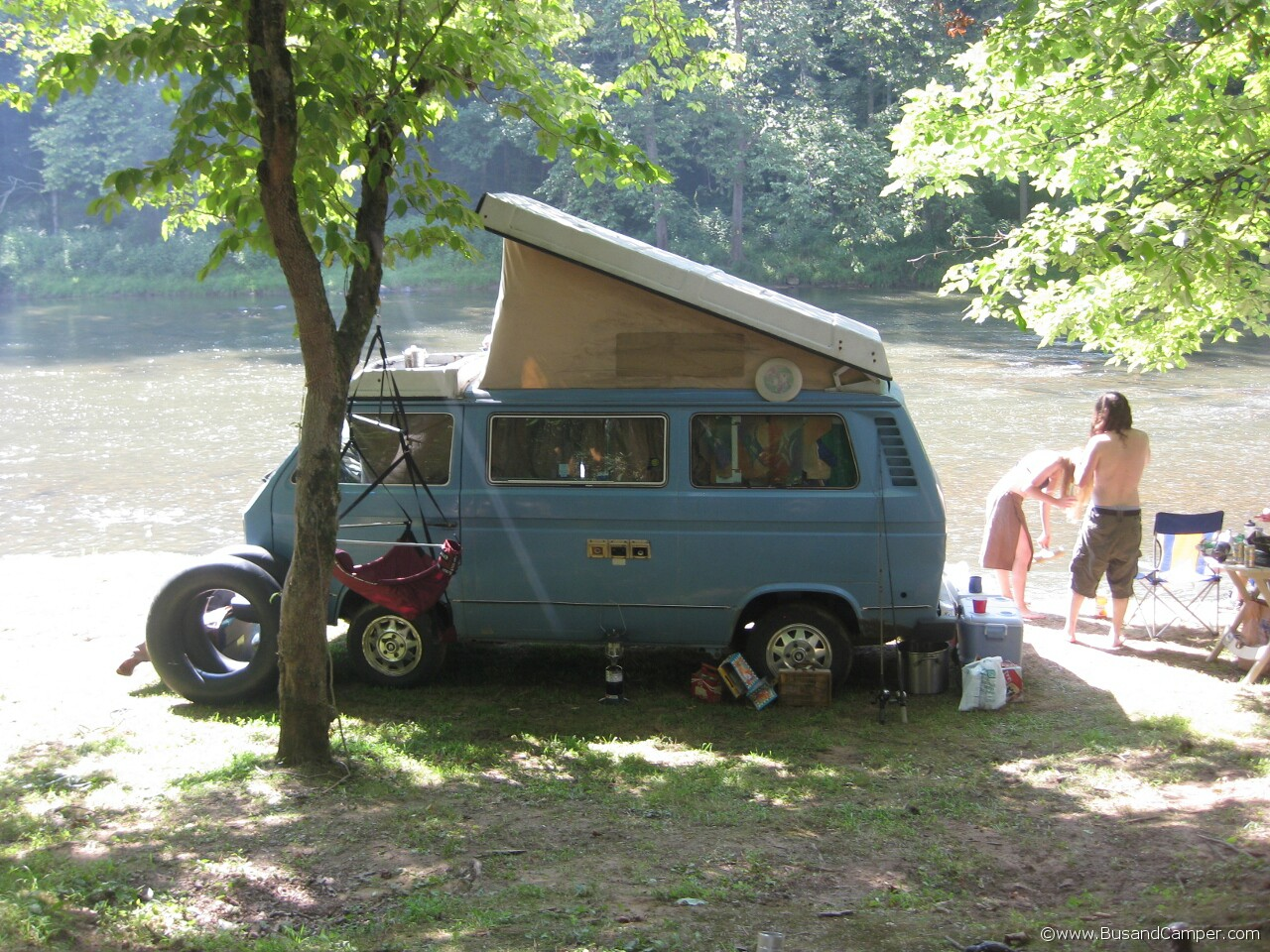 Perfect VW Campout setting