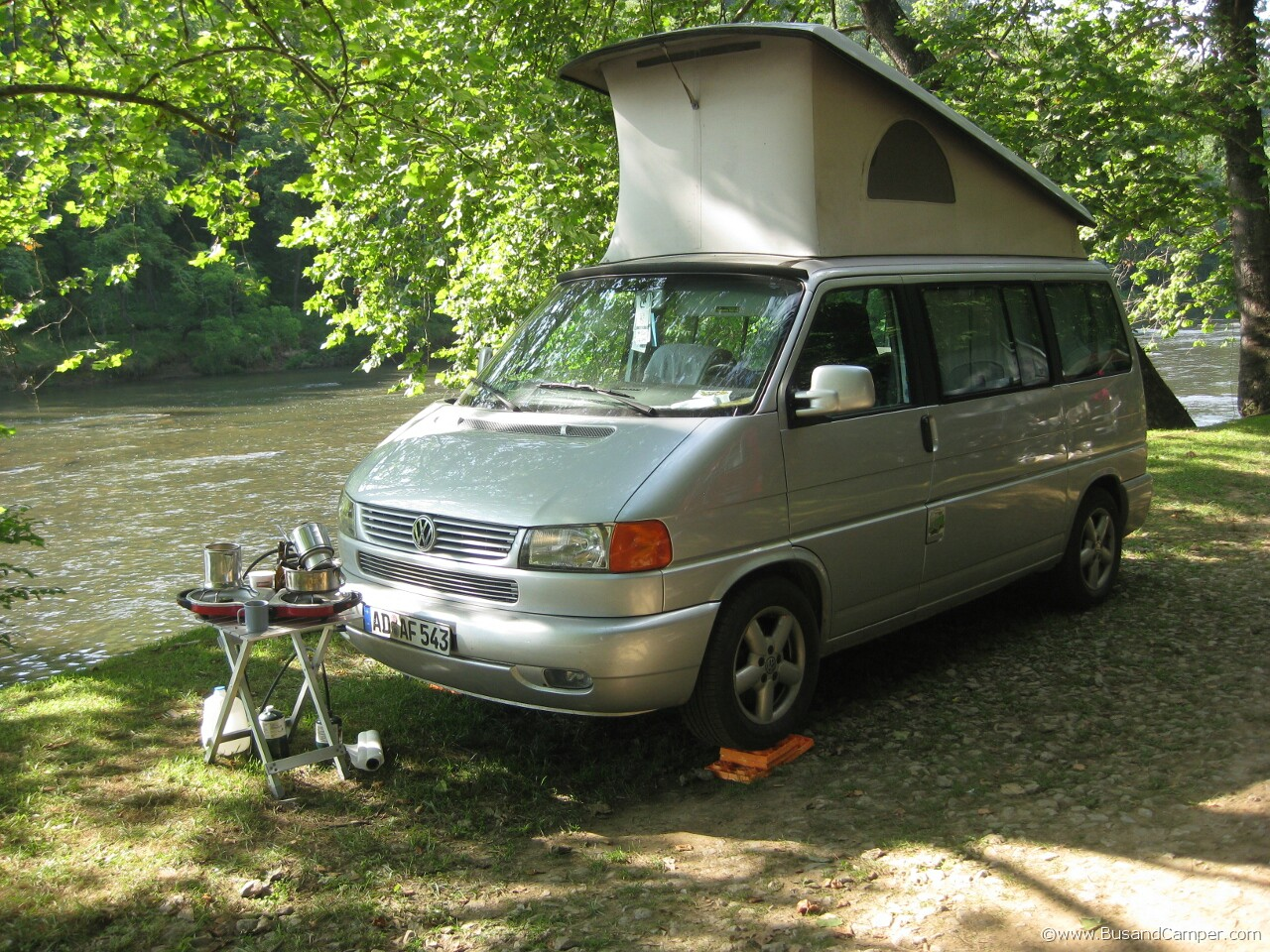 T4 Westfalia Camping