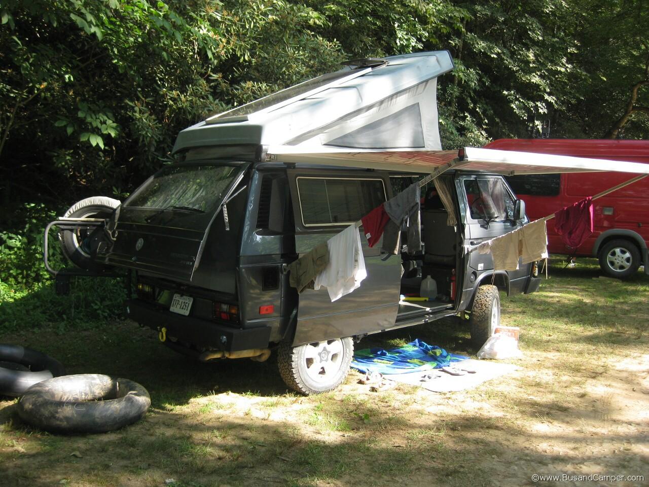 Volkswagen Syncro Westfalia camping