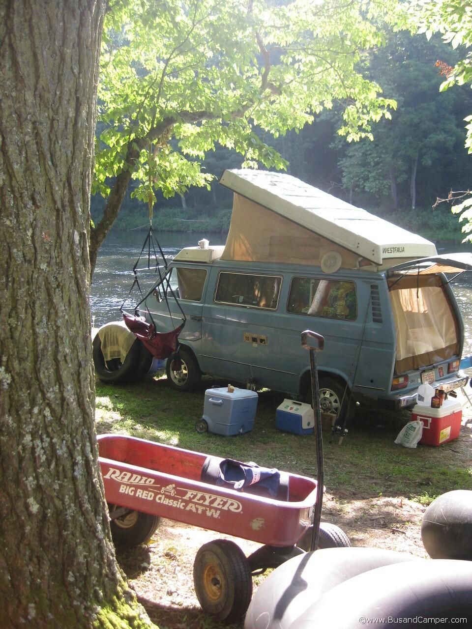 Radio flyer VW camper