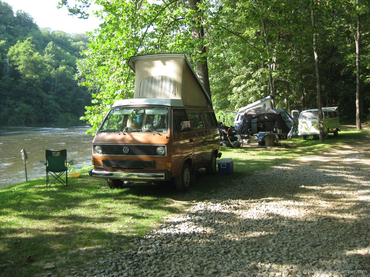 Orange Clean Westy