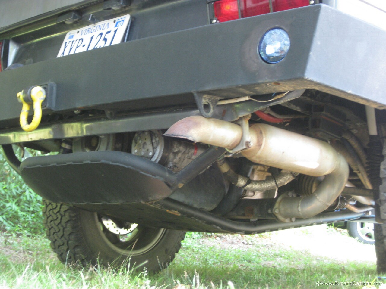 VW Syncro sump guard