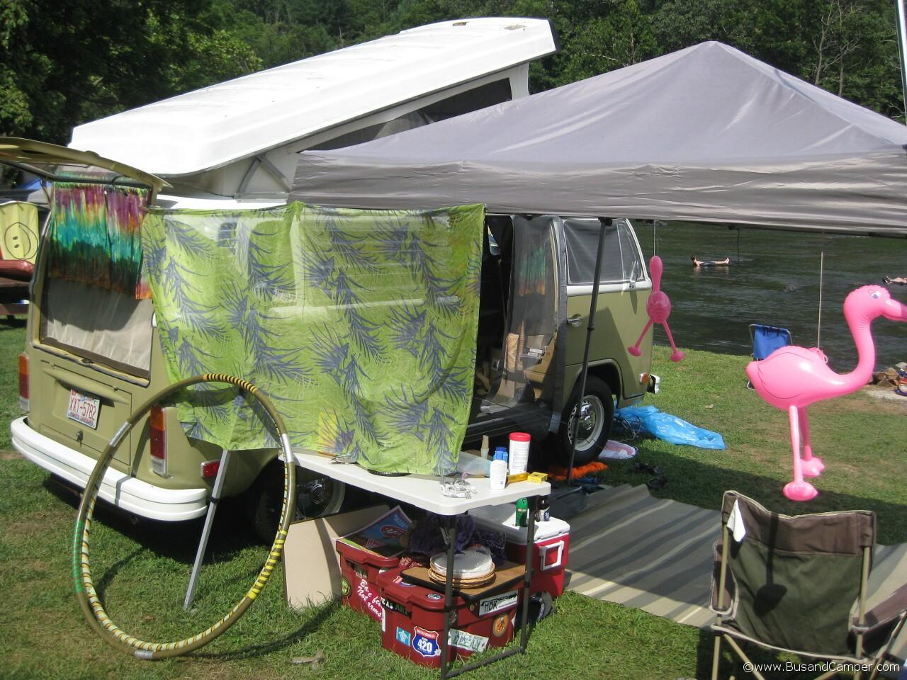 Pink Famingo Campsite