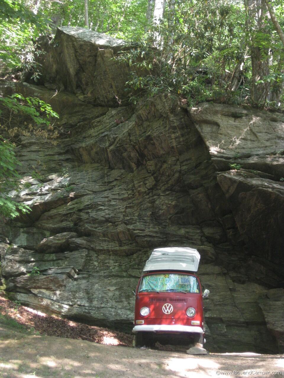 Chianti Red VW Camper