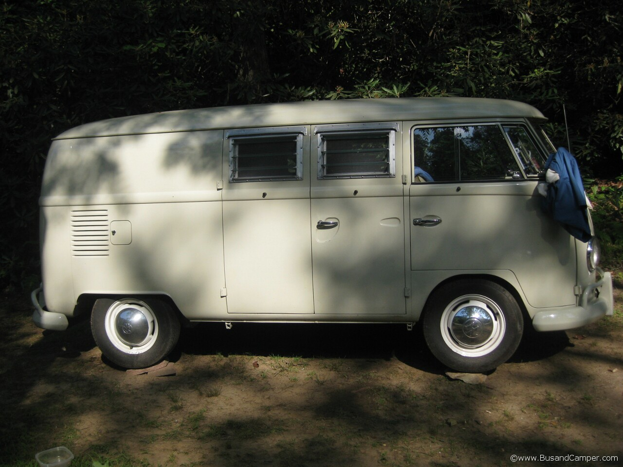 Panel Van converted VW Camper